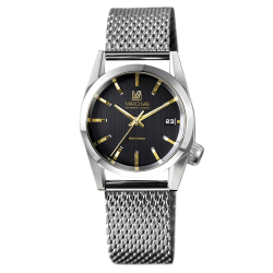 Montre March LA.B AM69 Suprême Electric bracelet maille milanaise 36 mm