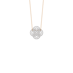 Collier Ginette NY Mini Purity diamants et or rose