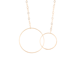 Collier Ginette NY Fusion en or rose