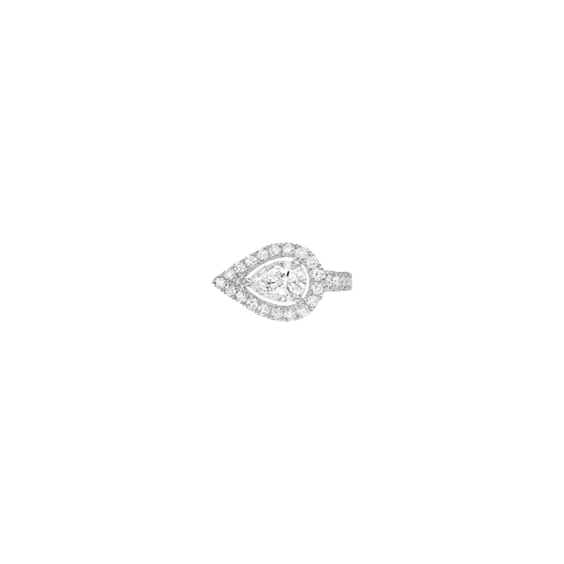 Boucle d'oreille clip Messika My Twin en or blanc et diamants