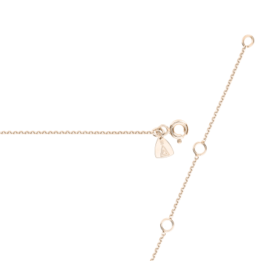 Collier Lepage Suzon en or rose diamants