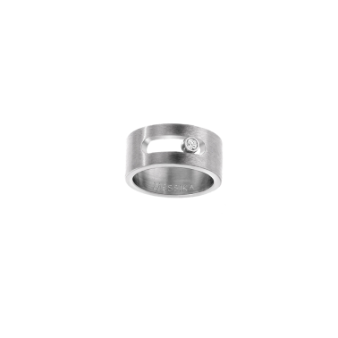 Bague Messika Move Titanium naturel diamant