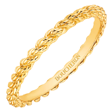 Alliance Boucheron Serpent Bohème en or jaune
